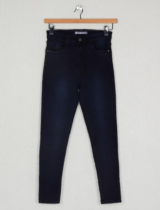 Pretty solid denim for causal wear in navy