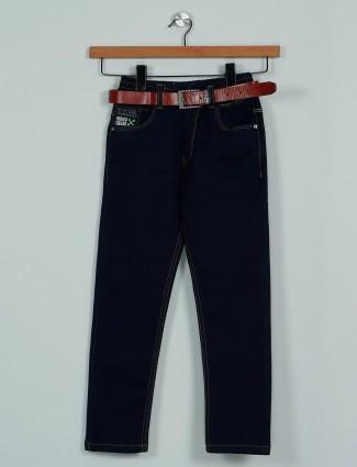 Rags classy solid navy denim boys jeans