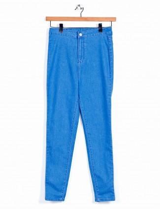 Recap blue womens casual jeans