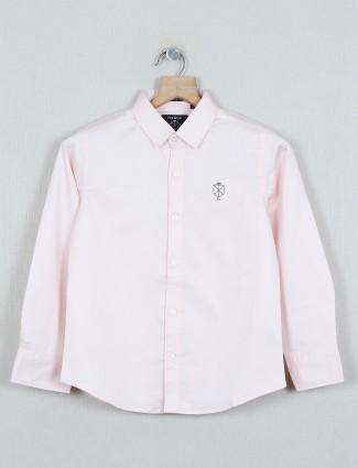 Ruff latest solid pink cotton shirt