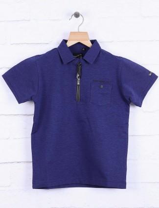 Ruff royal blue boys t-shirt