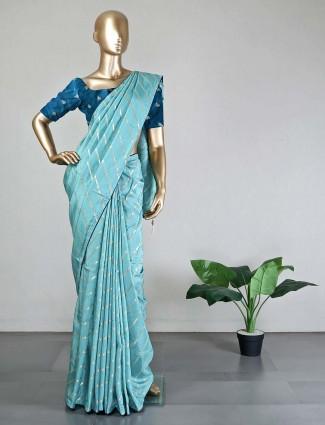sea green saree for wedding days