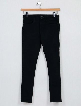 Spykar black casual wear denim for women