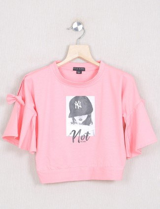 Stilo Moda presented pink shade casual top for girls
