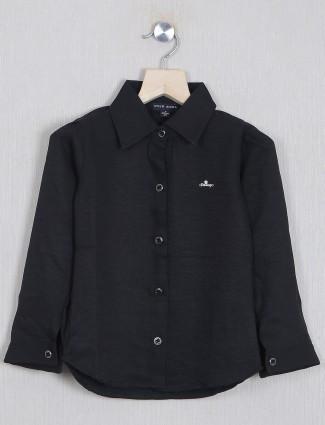 Stilomodo solid style black top for girls