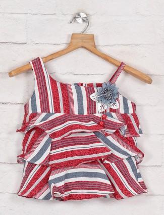 Tiny Girl stripe pattern in pink