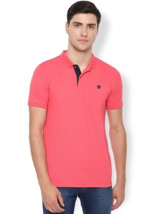 Van Heusen bright pink cotton t-shirt