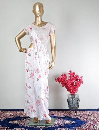 White designer salwar suit for party events