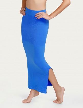 Zivame Blue Saree Shape Wear Lycra petticoat