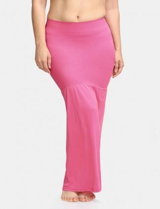 Zivame Saree Shape Wear Pink Lycra Petticoat