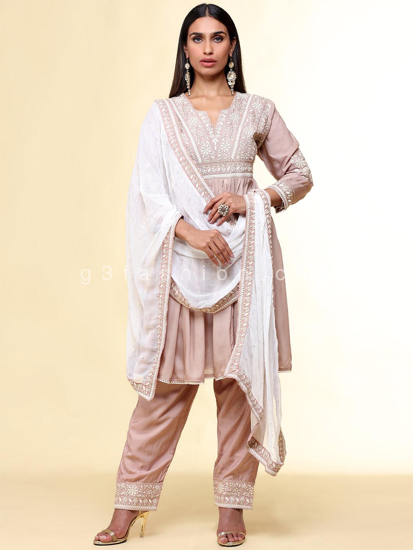 Onion pink festive wear peplum style salwar suit?imgeng=w_400