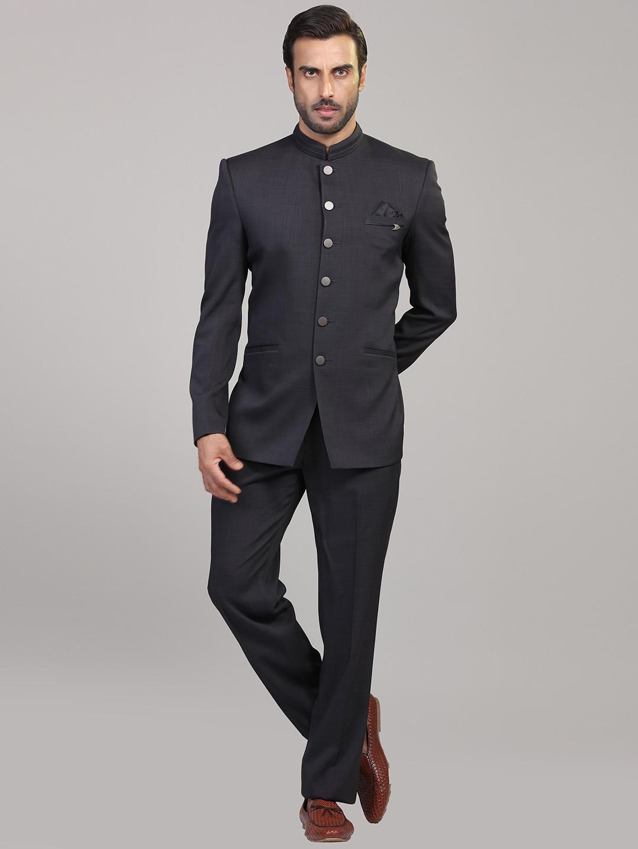 Party function grey jodhpuri suit?imgeng=w_400