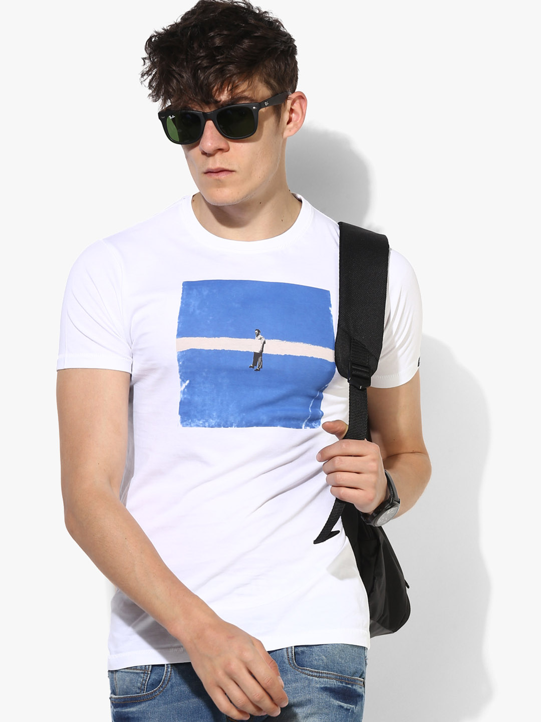 Pepe Jeans simple white t-shirt?imgeng=w_400
