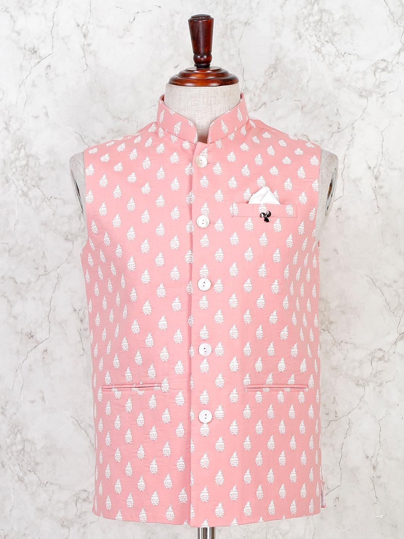 Pink cotton stunning waistcoat?imgeng=w_400