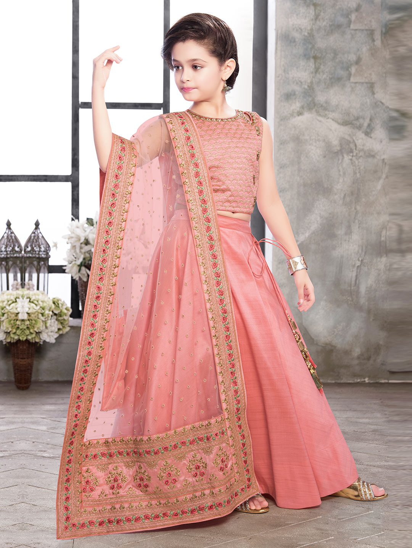 Pink designer raw silk lehenga choli?imgeng=w_400