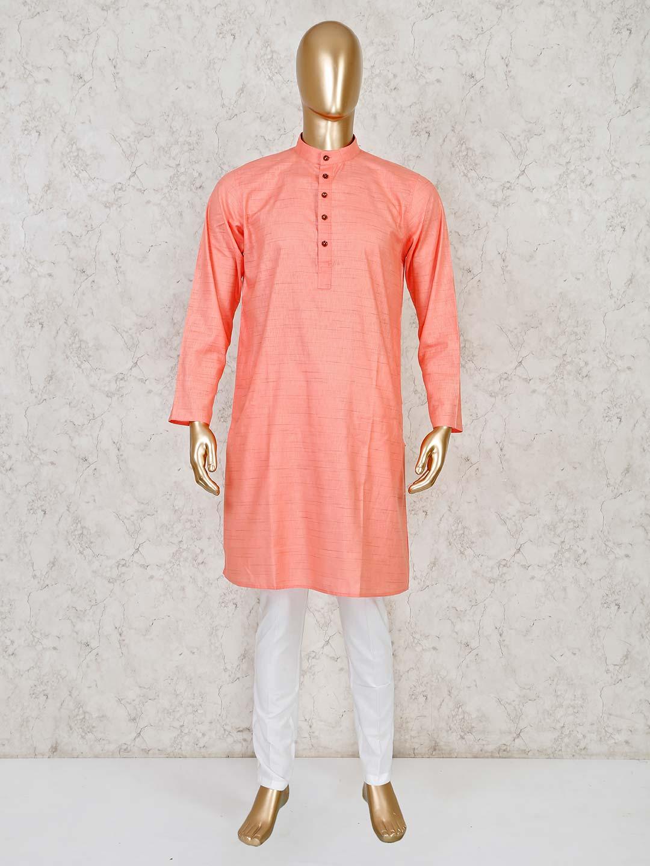 Pink festive wear cotton  kurta suit?imgeng=w_400