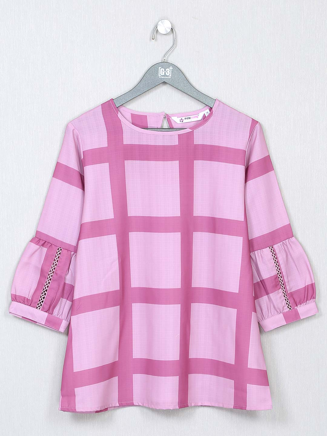 Pink poly cotton casual wear top?imgeng=w_400