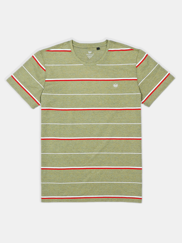 Psoulz polo stripe olive t-shirt?imgeng=w_400