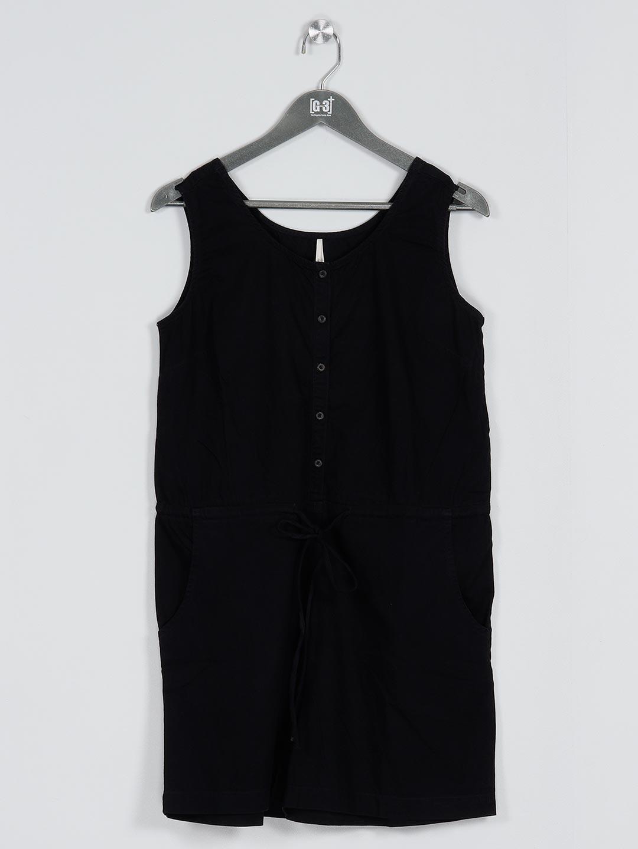 Recap black long casual t-shirt for women?imgeng=w_400