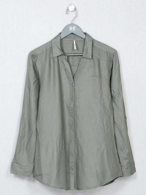 Recap grey shirt style casual top for women?imgeng=w_400