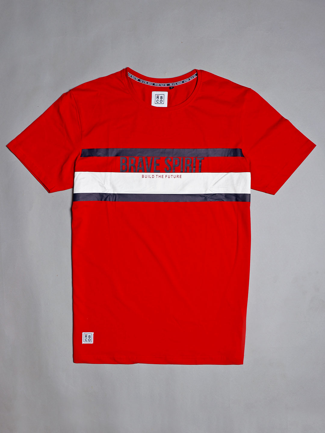River Blue cotton red printed mans t-shirt?imgeng=w_400