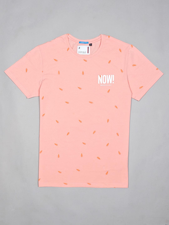River Blue printed pink cotton t-shirt?imgeng=w_400