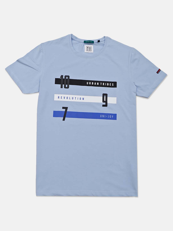 River Blue sky blue cotton mens t-shirt?imgeng=w_400