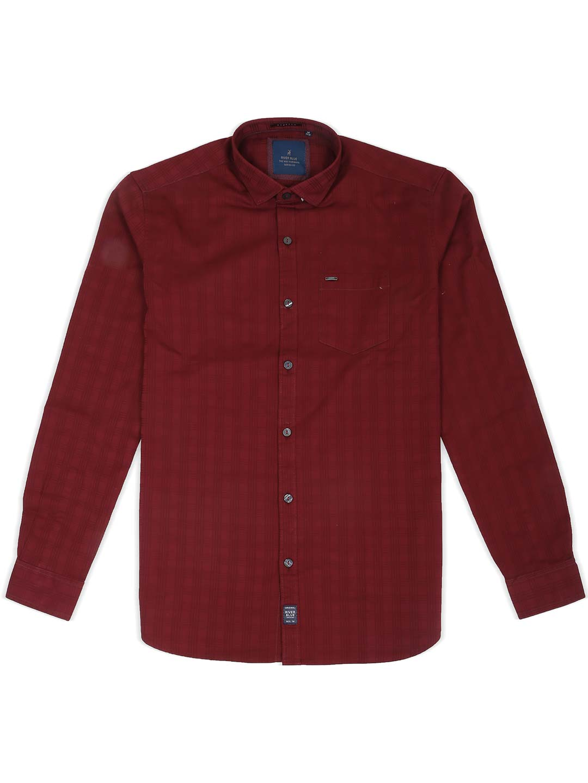 River Blue solid maroon hue shirt?imgeng=w_400