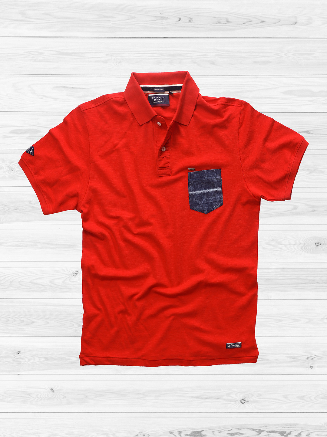 River Blue solid red t-shirt?imgeng=w_400