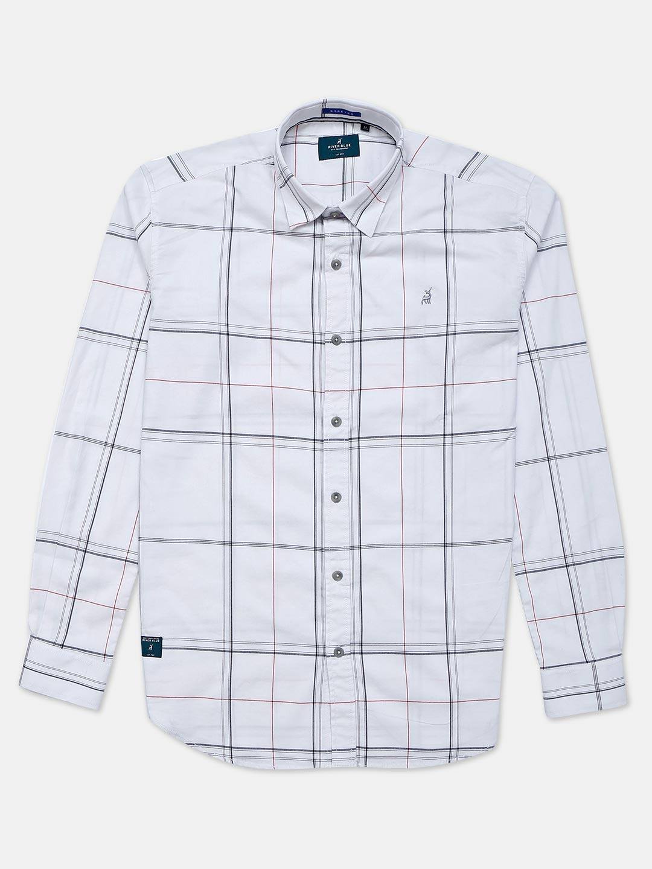 River Blue white checks cotton mens shirt?imgeng=w_400