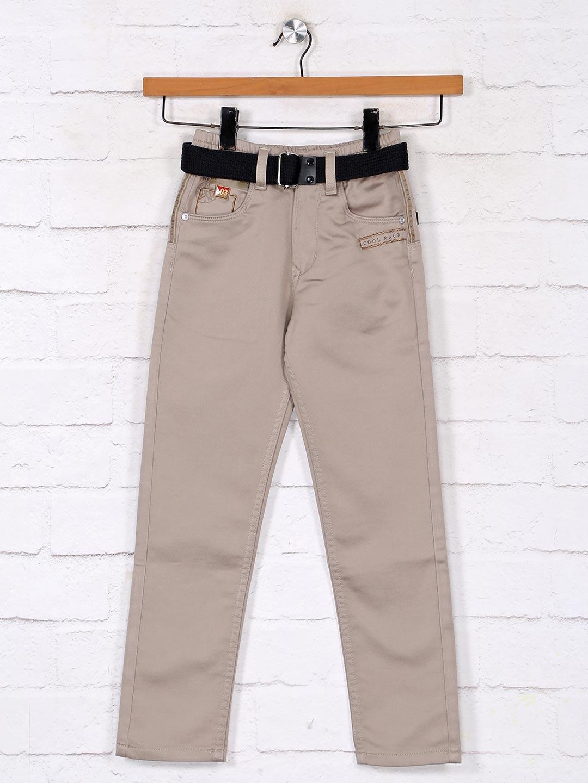 Solid khaki denim jeans for boys?imgeng=w_400
