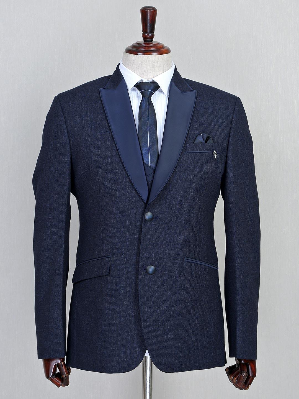 Solid navy three piece jute coat suit?imgeng=w_400