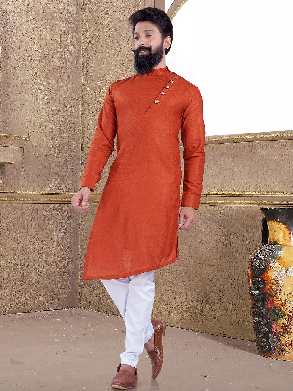 Solid rust orange kurta suit?imgeng=w_400