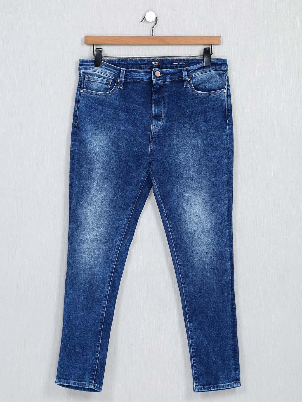 Spykar attractive blue denim for women?imgeng=w_400