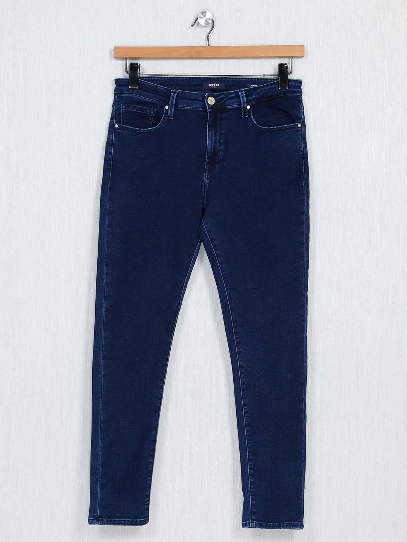 Spykar dark blue denim jeans for women?imgeng=w_400