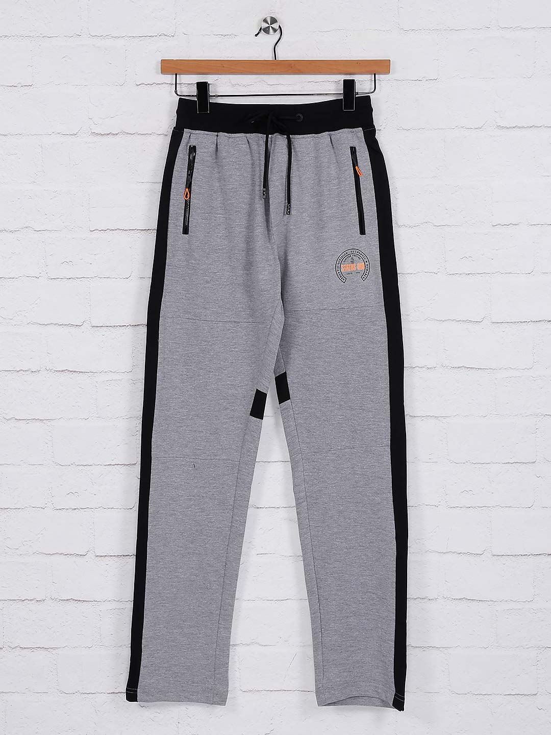 Status Quo solid grey hue track pant?imgeng=w_400