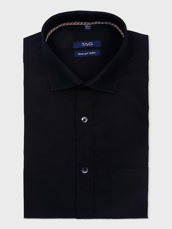 TAG solid black hue formal wear shirt?imgeng=w_400