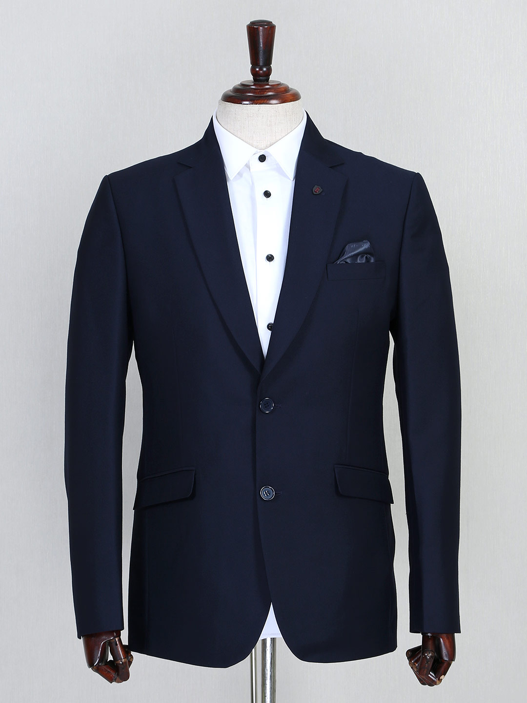 Terry rayon solid navy mens coat suit?imgeng=w_400