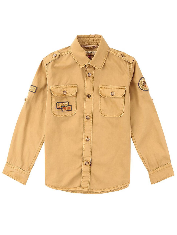 U S Polo mustard yellow color shirt?imgeng=w_400