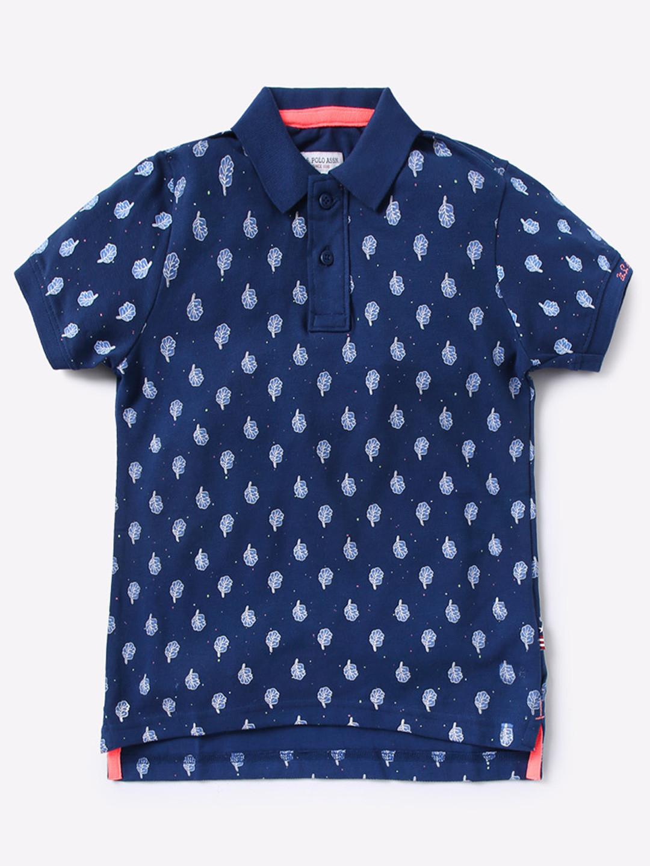 U S Polo navy hue simple t-shirt?imgeng=w_400