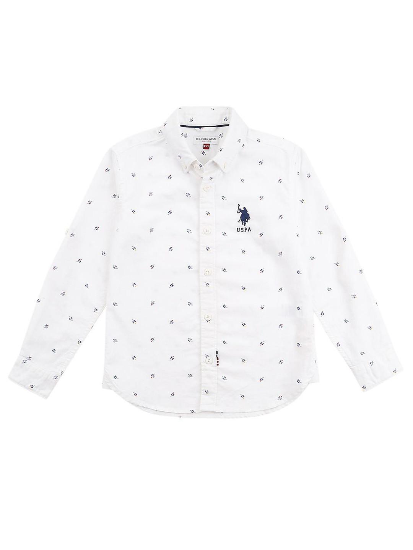 U S Polo white printed pattern shirt?imgeng=w_400