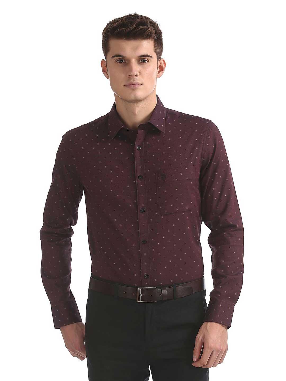U S Polo wine maroon colored shirt?imgeng=w_400