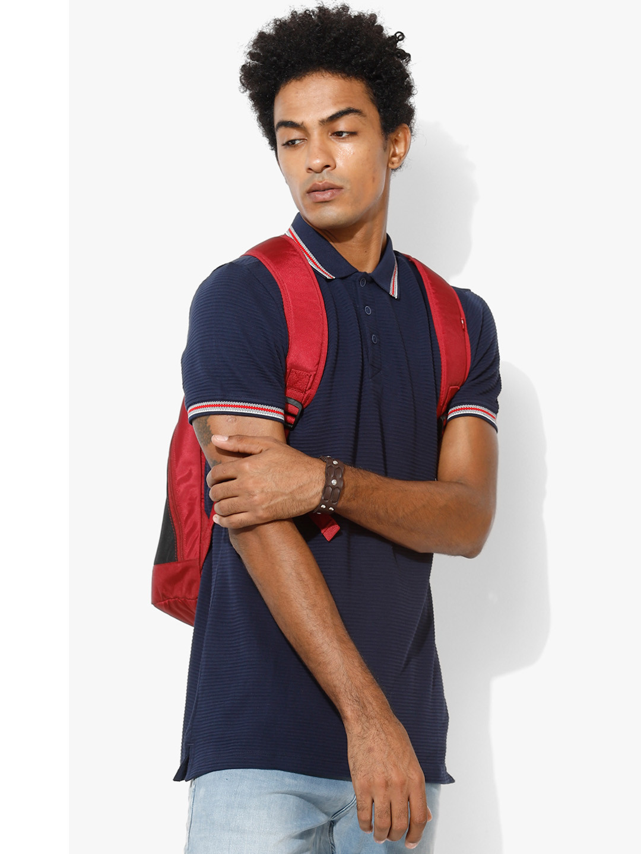 UCB navy plain cotton t-shirt?imgeng=w_400