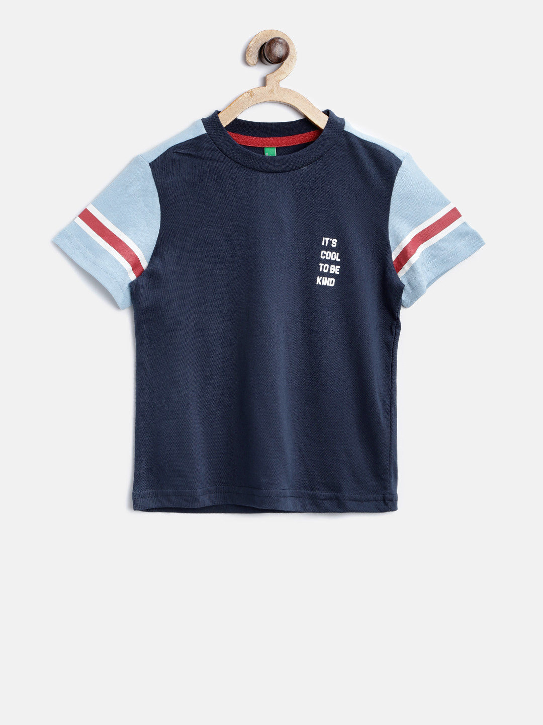 United Colors of Benetton navy t-shirt?imgeng=w_400