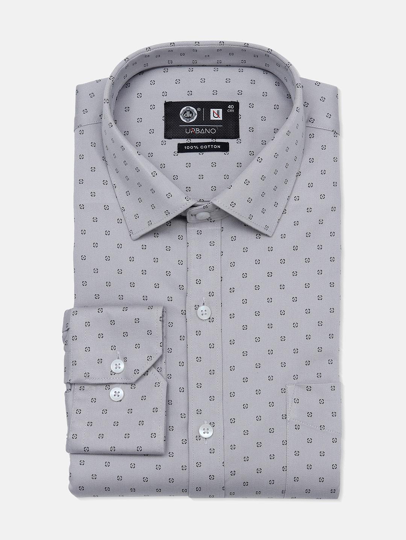 Urbano grey printed party wear mens shirt?imgeng=w_400