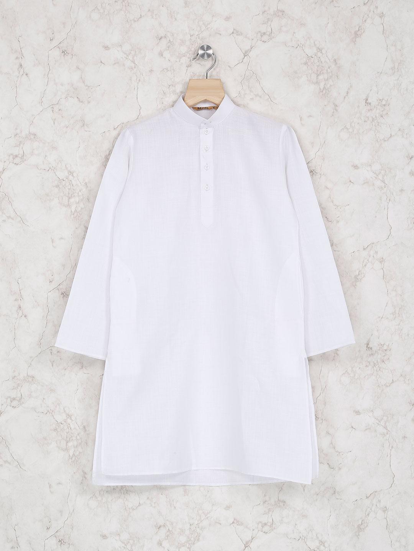 White color festive wear kurta suit?imgeng=w_400