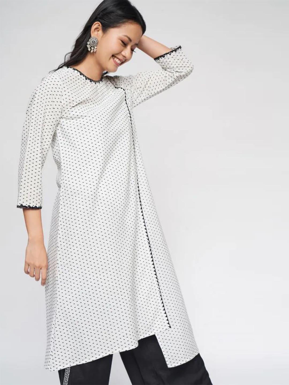 White festive wear cotton kurti?imgeng=w_400
