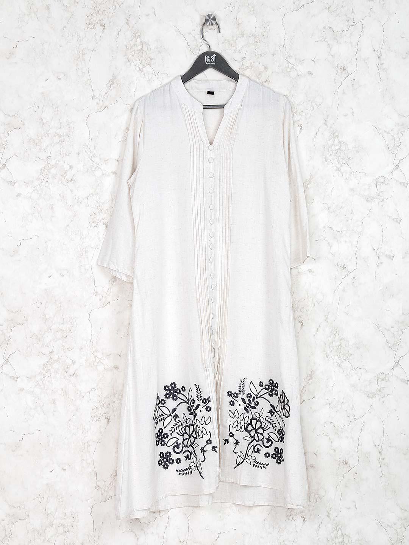 White hue casual wear simple kurti?imgeng=w_400