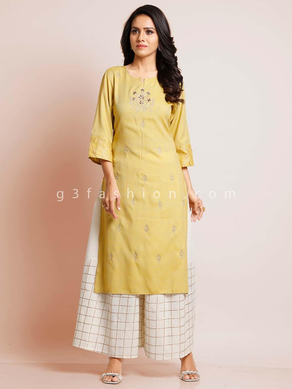 Yellow cotton festive wear cotton suit?imgeng=w_400