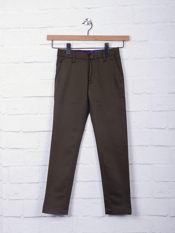 Zillian dark olive casual trouser?imgeng=w_400